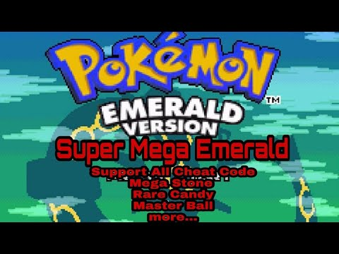 Pokemon delta emerald gba cheats mega stone
