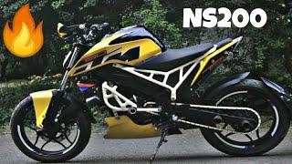 Only 1 In India|Modified Bajaj NS200 Into KTM Duke 390 By Doctor Custom|MotoMahal|#NS200 #BAJAJ