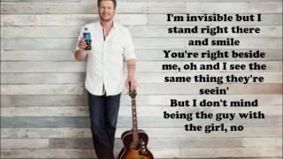 Blake Shelton - A Guy with a Girl (Lyrics)