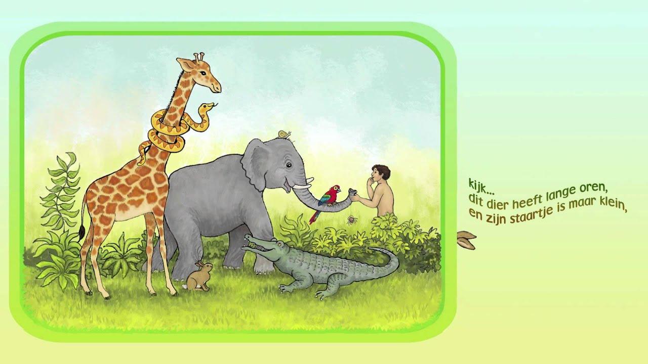 Kinderlied: Adam geeft de dieren namen