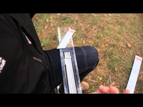 Комплект дуг алюминий D 8,5 mm. Видеообзор.