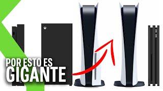 La PS5 es GIGANTE en comparación con otras consolas, y Sony confirma por qué