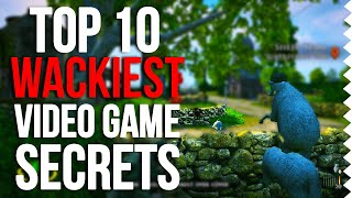 Top 10 Wackiest Easter Eggs In Video Games!