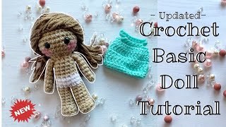 Basic Crochet Doll  Amigurumi Tutorial