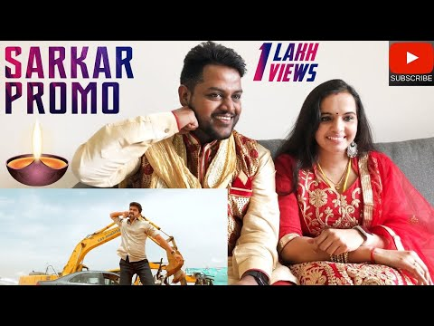 Download Sarkar Promo Reaction | Malaysian Indian Couple | Deepavali Special | Thalapathy HD Mp4 3GP Video and MP3