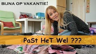 KOFFERS iNPAKKEN ! | Bellinga Vlog #590