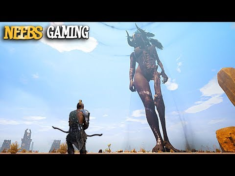 Conan Exiles - SUMMONING A GOD!!!