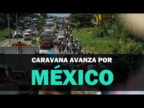 Caravana migrante atraviesa México mientras EEUU despliega 5.200 soldados en la frontera | NTN24