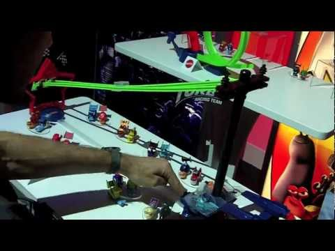 Turbo The Movie Racing Team Toys from Mattel.  First Look at Toy Fair 2013