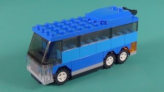 Lego Bus Building Instructions - Lego Classic 10697 How To