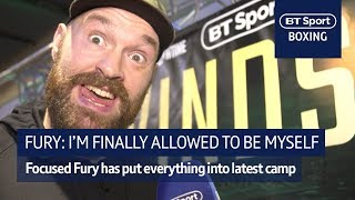 Fury: I can finally be myself after months of hard training - Video Youtube