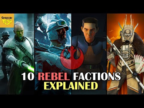 10 Rebel Alliance Factions Explained