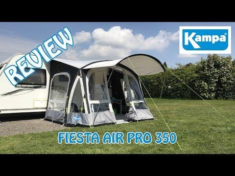 Kampa Fiesta Air Pro 350 | Awning Review 2018