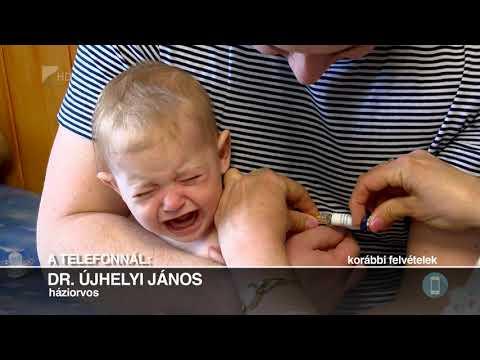 A férgek kezelésének ideje a gyermekeknél