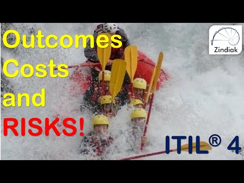 ITIL® 4 - Key Concepts of Service Management - Outcomes, Costs ...
