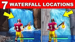 Visit Different Waterfalls Fortnite Battle Royale ฟร ว ด โอออนไลน - visit different waterfalls all 7 locations overtime challenges fortnite free rewards