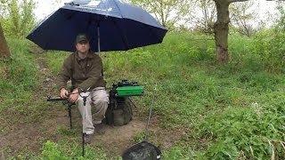 Feeder pod deštníkem