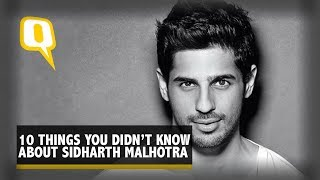 The Quint: Two Minutes With Sidharth Malhotra