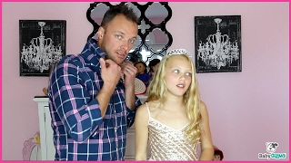 "Ariana Grande ""SIDE TO SIDE"" PARODY - Dad & Daughter Spoof"