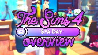 The Sims 4: Spa Day // Overview