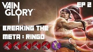 Vainglory - Breaking the Meta EP 2: Ringo |5x Tornado Tigger| Lane Gameplay