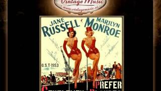 GENTLEMEN PREFER BLONDES Soundtrack CD 56/100 - O.S.T 1953 Marilyn Monroe Russell