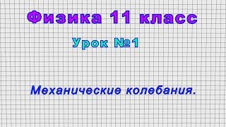 11 класс Урок 1