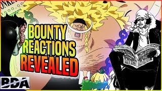 The New Yonko's BOUNTY REACTIONS: WEEVIL'S RETURN?! - One Piece Chapter 904+