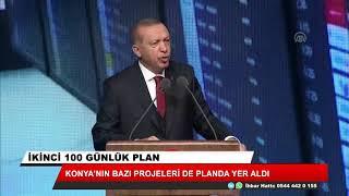 Konya'nın bazı projeleri de planda yer aldı