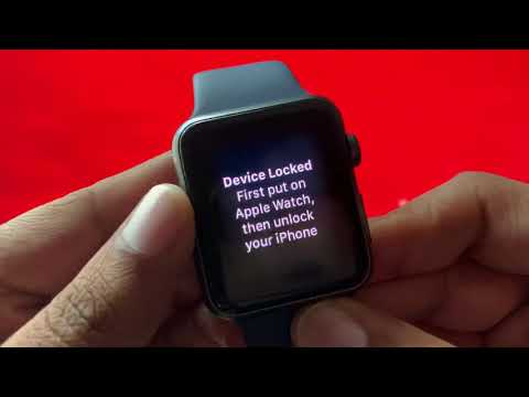 How To Reset Apple Watch Manually - Fix for Device Locked in Apple Watch!?