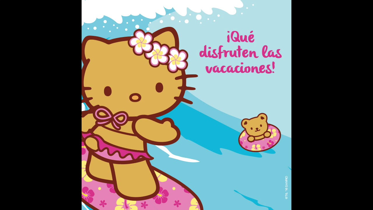 Musicalization Demo - Hello Kitty Vacaciones - LATAM Spanish Sample