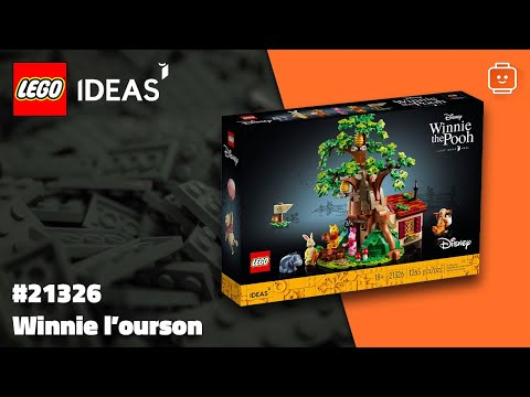 Vidéo LEGO Ideas 21326 : Winnie l'Ourson