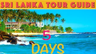 Sri Lanka Tour Plan