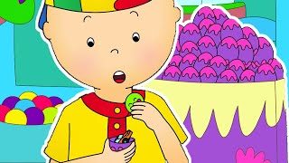 Funny Animated cartoons Kids 🥚 Caillou and Surprise Eggs 🥚 WATCH ONLINE | Cartoons for Children
