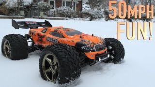 UNBOXING & BASHING! - 50+ MPH BISON V2 RC SUPER TRUCK - Vkar Racing Brushless FULL REVIEW