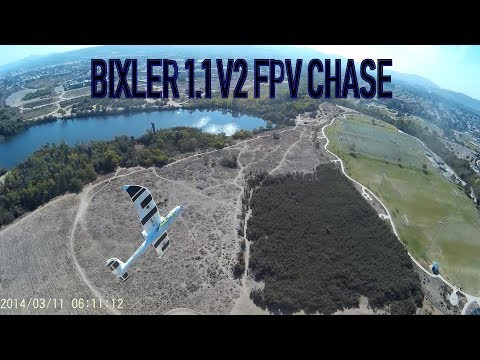 hobby-king-bixler-11v2-fpv-chase-with-quadcopter
