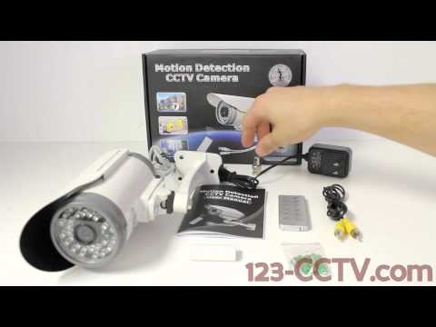 DVR Camera Overview of Outdoor CCTV camera with Built-in SD Card DVR
