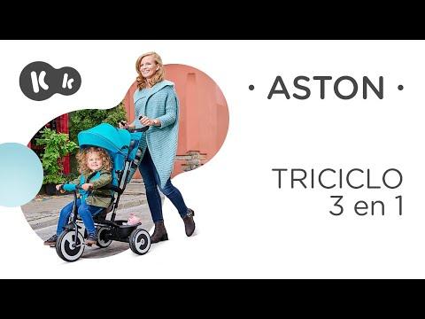 Triciclo evolutivo Aston gris Kinderkraft