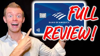 Bank of America TRAVEL REWARDS CARD Review! (Travel Credit Card | No Annual Fee)