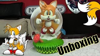Unboxing Miles (Tails) Prower Statue | What does the Fox say?!