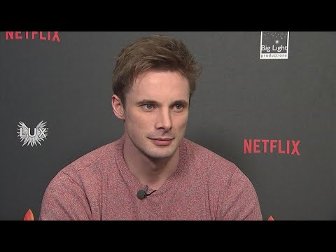 """Actor Bradley James - star of """"Merlin"""" and """"Medici: Masters of Florence"""" had a crush on one of his ex-work colleagues, but who was it? (Feb. 20)"""