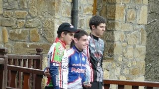 preview picture of video 'Ciclocross Güeñes 2015 cadetes'