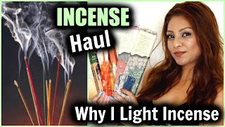 Incense Haul &  Why I Light Incense Every Day!