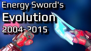 The Evolution of Halo's Energy Sword | Let's take a look at every version of the Halo Energy Sword