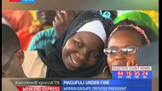 President Magufuli says no to pregnant schooling girls