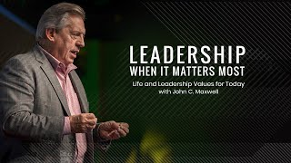 Leadership When It Matters Most