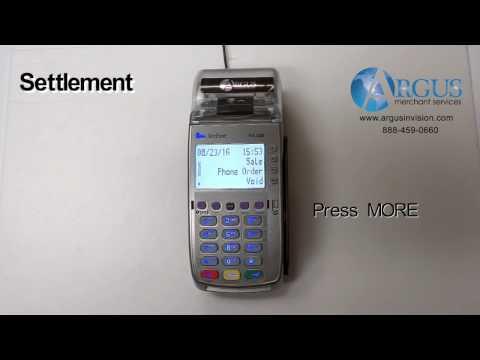 VeriFone VX520 Settlement - Argus Merchant Services - THFilm pro