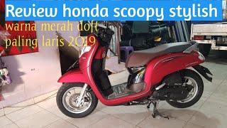 Motor Scoopy Terbaru 2018 Warna Merah Best Wallpapers Cloud