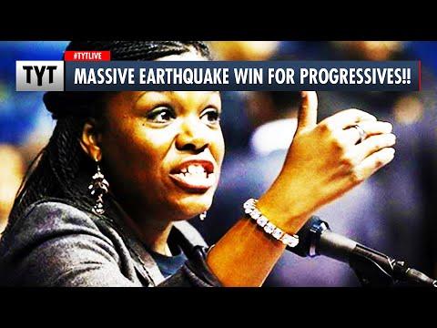 Massive Earthquake Win for Progressives!!