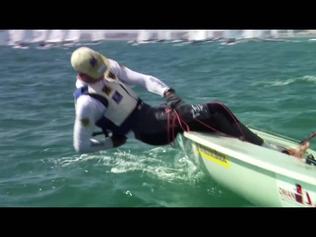 Tight and tactical - Olympic Laser sailing